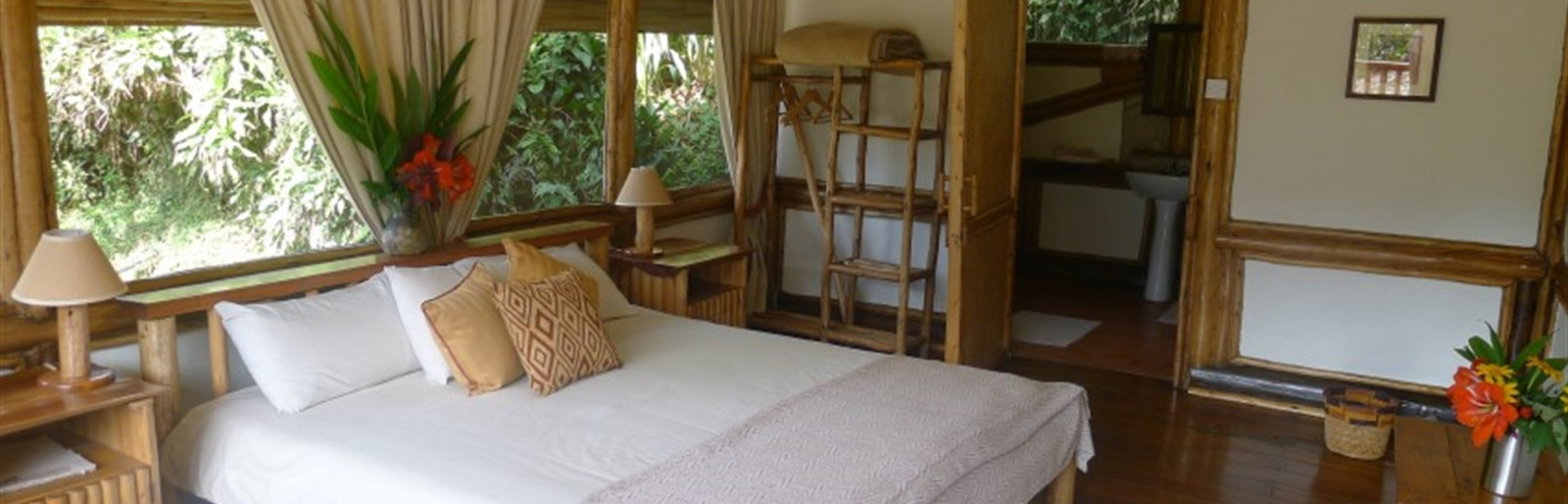 Buhoma Lodge in Bwindi National Park in Uganda