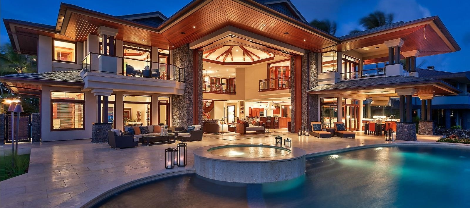 Luxurious homes