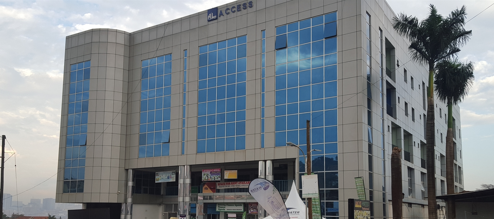 Commercial space to let along Lubaga Road