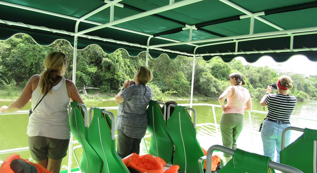 Boat Cruise on Lake Mburo