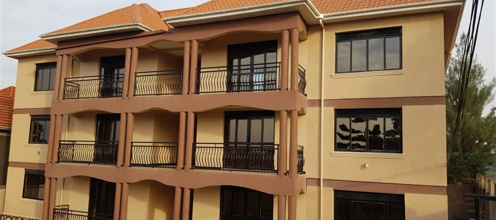 Apartments for rent in Kitettika-Gayaza road.