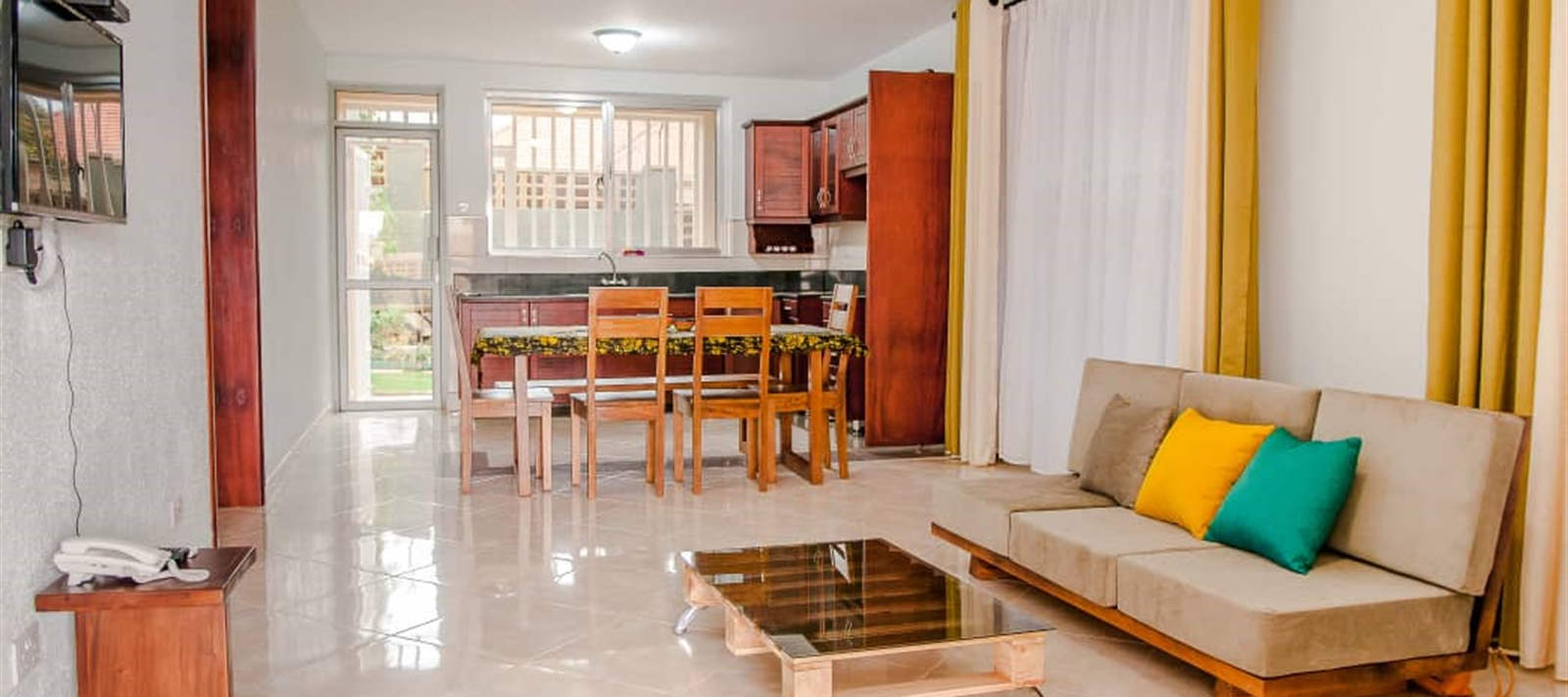 Furnished apartment for rent in Kiwatule