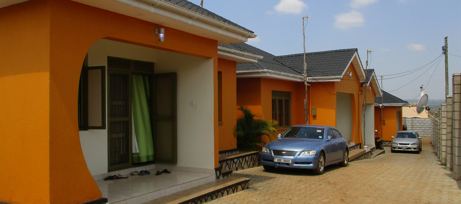Semi-detached units manged in Mpala-Entebbe road