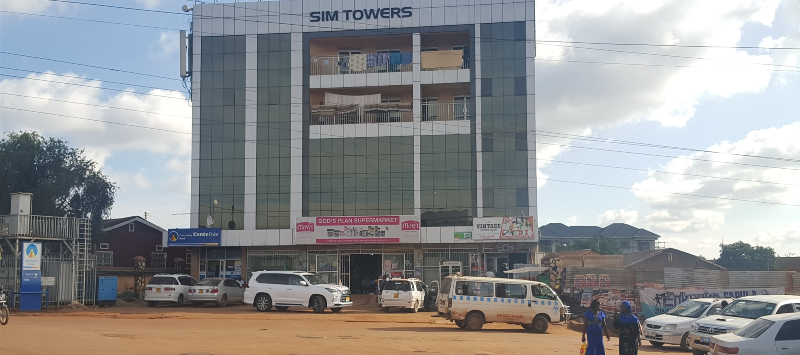 Commercial block in Makindye